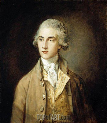 Edward Swinburne, 1785 | Gainsborough | Painting Reproduction