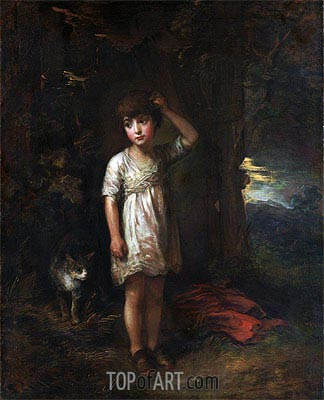 Gainsborough | A Boy with a Cat (Morning), 1787