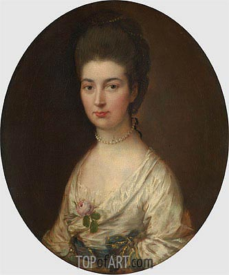 Mrs. Ralph Izard (Alice DeLancey),  | Gainsborough | Painting Reproduction