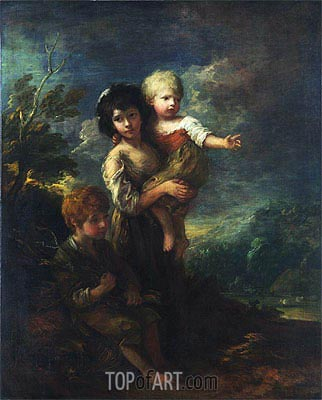 Gainsborough | The Wood Gatherers, 1787