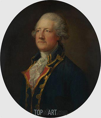 Gainsborough | Portrait of a Man (General Blyth),