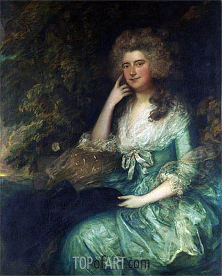 Gainsborough | Mrs. William Tennant (Mary Wylde), c.1780/88