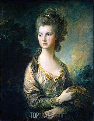 Gainsborough | The Hon. Mrs. Thomas Graham, c.1775/77