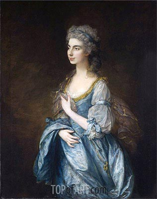 Gainsborough | Portrait of Lady Rodney (Anne Harley), c.1781