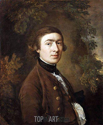 Gainsborough | Self Portrait, c.1758/59