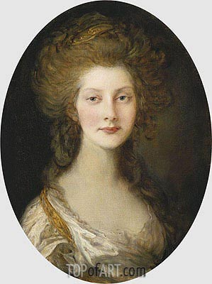 Princess Augusta, 1782 | Gainsborough | Painting Reproduction