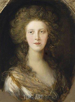 Gainsborough | Charlotte, Princess Royal, 1782