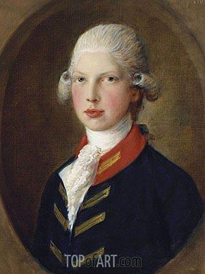 Gainsborough | Prince Edward, later Duke of Clarence, 1782
