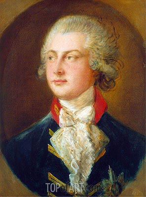 Gainsborough | George IV, when Prince of Wales, 1782