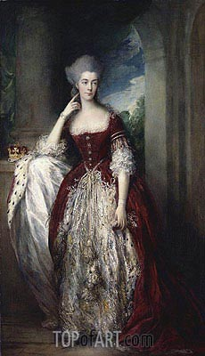 Anne, Duchess of Cumberland, c.1773/77 | Gainsborough | Painting Reproduction