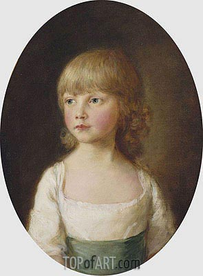 Princess Sophia, 1782 | Gainsborough| Painting Reproduction