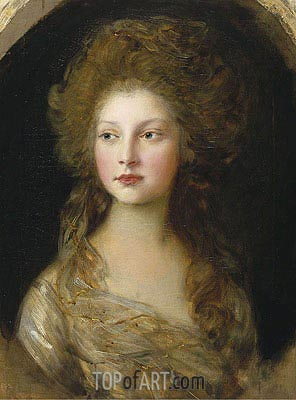 Gainsborough | Princess Elizabeth, 1782