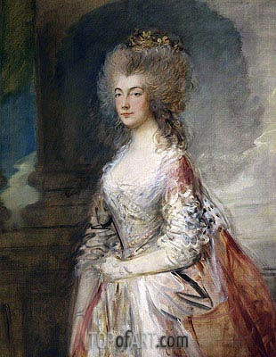 Anne, Duchess of Cumberland, 1783 | Gainsborough | Painting Reproduction