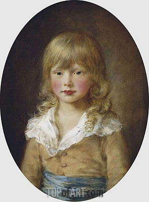 Prince Octavius, 1782 | Gainsborough | Painting Reproduction