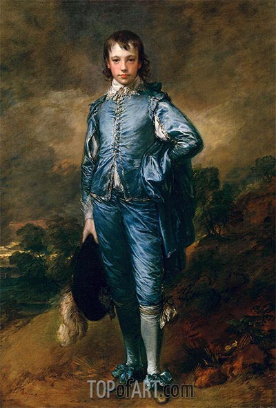 Gainsborough | The Blue Boy, c.1770