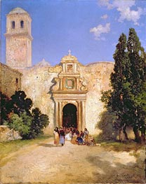 Maravatio, Mexico, 1912 von Thomas Moran | Gemälde-Reproduktion