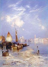 A View of Venice | Thomas Moran | Gemälde Reproduktion