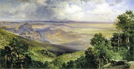 Valley of Cuernavaca | Thomas Moran | Gemälde Reproduktion