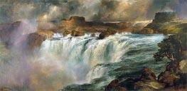Shoshone Wasserfälle auf dem Snake River | Thomas Moran | veraltet