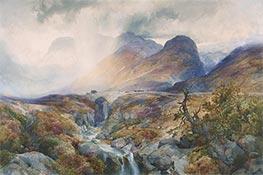 Pass at Glencoe, Scotland | Thomas Moran | veraltet