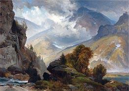 Die weißen Berge | Thomas Moran | veraltet