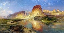 Green River of Wyoming | Thomas Moran | Gemälde Reproduktion