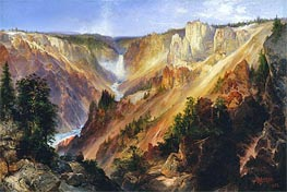 Der Grand Canyon des Yellowstone | Thomas Moran | Gemälde Reproduktion