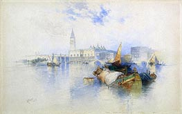 Basin of San Marco, 1897 by Thomas Moran | Painting Reproduction