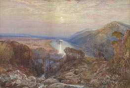 View of the Susquehanna, undated by Thomas Moran | Painting Reproduction