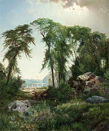 Summer on the Susquehanna | Thomas Moran | Painting Reproduction