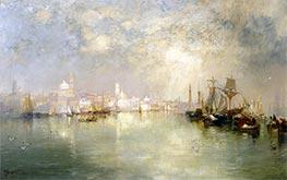 Venice: Reminiscence of Vera Cruz, Mexico | Thomas Moran | Painting Reproduction