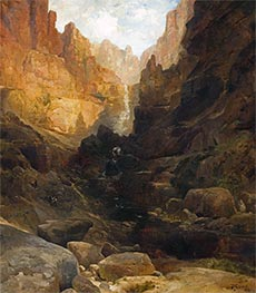 Side Canyon of the Colorado, 1878 by Thomas Moran | Painting Reproduction