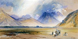 The Yellowstone Range, near the Crow Mission | Thomas Moran | Painting Reproduction