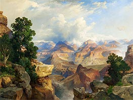 The Grand Canyon, 1913 by Thomas Moran | Painting Reproduction