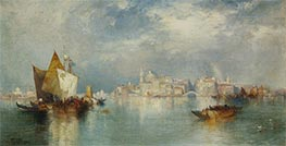 Venice, 1900 by Thomas Moran | Painting Reproduction