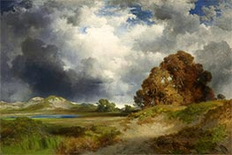 East Hampton, 1916 von Thomas Moran | Gemälde-Reproduktion