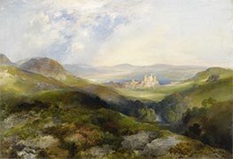 Conway Castle, 1917 by Thomas Moran | Painting Reproduction
