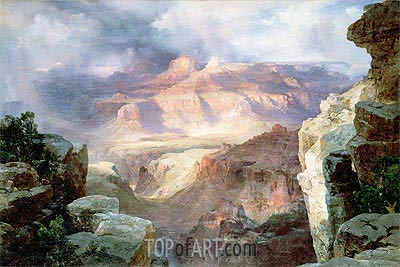 A Miracle of Nature, 1913 | Thomas Moran | Painting Reproduction