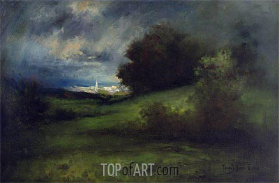 Summer Storm, 1903 | Thomas Moran | Painting Reproduction