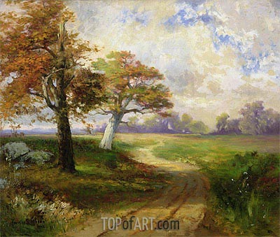 Autumn Scene, 1902 | Thomas Moran | Painting Reproduction