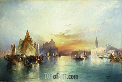 Venice, 1897 | Thomas Moran | Painting Reproduction