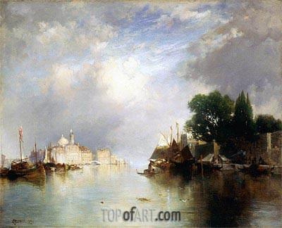 Thomas Moran | View of Venice, 1890