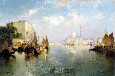 Venice, 1887 | Thomas Moran | Painting Reproduction