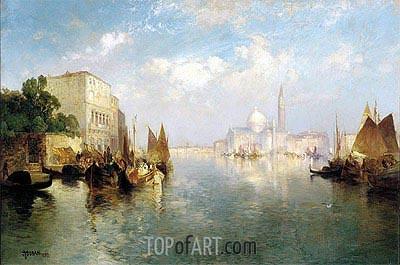 Venice, 1887 | Thomas Moran | Gemälde Reproduktion