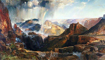 The Chasm of the Colorado, c.1873/74 | Thomas Moran | Painting Reproduction