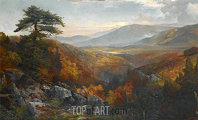 Autumn Landscape, c.1865 | Thomas Moran | Painting Reproduction