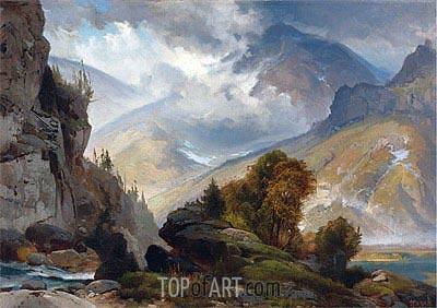Thomas Moran | The White Mountains, 1874