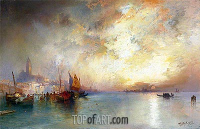View of Venice, 1897 | Thomas Moran | Painting Reproduction