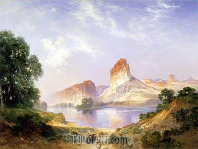 An Indian Paradise (Green River, Wyoming), 1911 | Thomas Moran | Gemälde Reproduktion