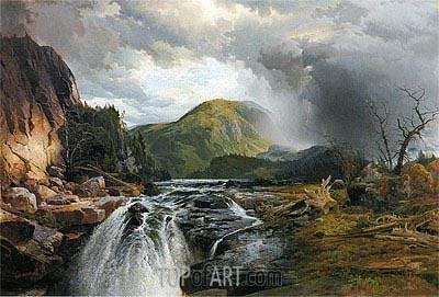 Thomas Moran | The Wilds of Lake Superior, 1864
